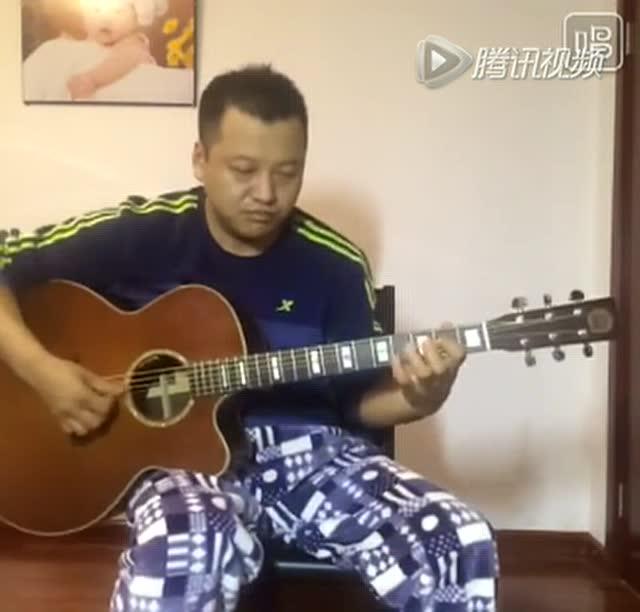 吉他独奏-《彝族舞曲》-小武的自娱自乐