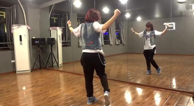 舞蹈教学 韩国日本流行热舞蹈慢动作分解教学视频