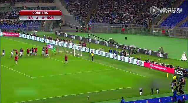 【集锦】意大利2-1逆转夺取小组头名 佩莱破门截图