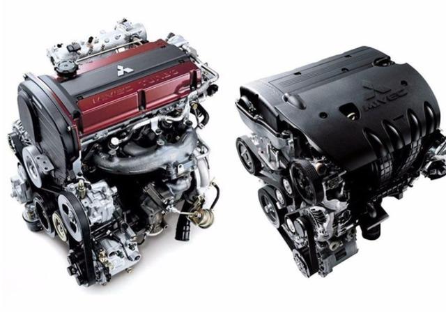 外国牛人车库自组三菱4g63发动机