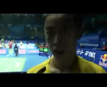 视频:王适娴称心态没问题 说不清楚缘何输球