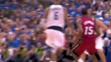 NBA总决赛第三战 诺天王超筐封盖波什