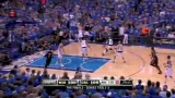 NBA总决赛第五场 钱德勒赠韦德关键大帽