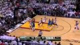 NBA总决赛第六战 基德妙传特里干拔跳投