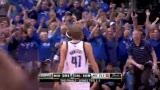 NBA总决赛第五场 喷气机特里飙制胜三分