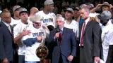 NBA总冠军颁奖仪式