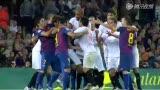 视频:小法遭围殴两队混战 卡努特被罚下
