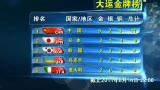 视频:大运会第二日奖牌榜