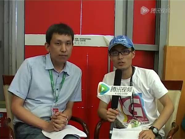视频:专访中华网游戏集团总经理孙敬卿