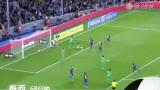 进球视频:小白抽射中柱 梅西补射锁定胜局