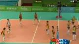 视频:中国女排负巴西屈居大运亚军