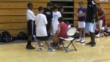 视频:张卫平篮球训练营 小球员试学花样球技