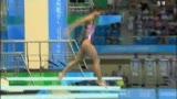 视频:跳水女子三米板 何姿强势轻松摘得金牌