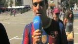 视频:小法引发巴萨全城围观 欢迎塞斯克归队