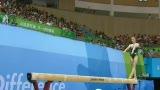 视频:女子体操决赛 肖康君平衡木发挥完美