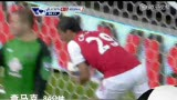 进球视频:查马克灵光一现 头槌破门为时已晚