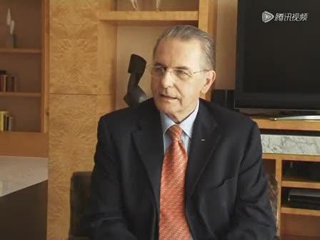 视频:奥委会主席雅克·罗格接受腾讯独家专访