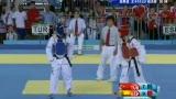 视频:跆拳道女子决赛 土耳其选手下劈直落3分