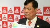 视频:专访匹克董事长许景南 称品牌会国际化