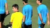 视频:阿贝罗亚接受采访 队内很团结夺冠还早