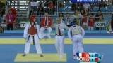 视频:法国选手最后殊死一搏 终不敌韩国摘铜