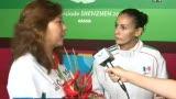 视频:采访女10米台冠军 跳水公主埃斯皮萨诺