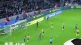 进球视频:小法右路妙塞 梅西低射远角破门