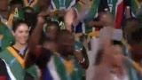 视频:大运开幕式 南非庞大代表团入场