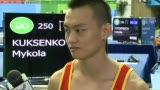 视频:赛后采访王冠寅 表示将剑指伦敦奥运会