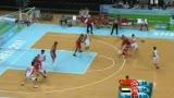 视频:第二节中国队有如神助 三分球接连命中