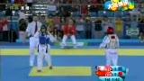 视频:跆拳道决赛 中国选手无缘四个级别争冠