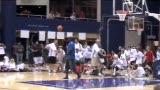 视频:张卫平篮球训练营 调整位置准备观战