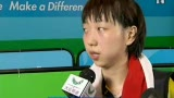 视频:比赛后采访乒乓女单亚军范瑛