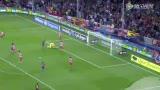 进球视频:哈维长传制导 比利亚摆脱得分