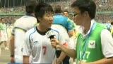 视频:毕妍激动受访 用冠军带动中国足球