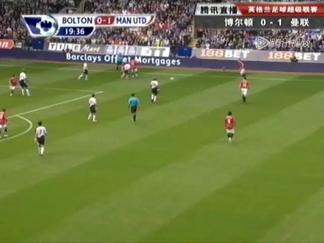 视频:鲁尼插上恰到好处 脚底推射曼联再进球