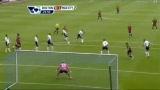 视频:席尔瓦大力射门弹地入网 曼城一球领先