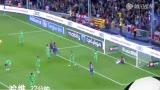 进球视频:佩德罗左路传中 哈维头球得分