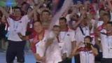 视频:塞尔维亚代表队入场 东欧旗手随乐起舞