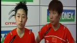 视频:于洋/王晓理摘金 中国包揽女双冠亚军