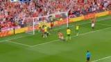 进球视频:曼联头球接力 安德森门前一锤定音