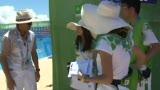 视频:大运会沙排志愿者 我奉献我快乐