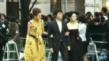 视频:隋棠黄裙靓丽和《命运化妆师》亮相