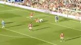 视频:曼联犀利反击击中横梁 纳尼被踢获点球
