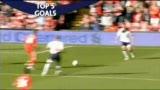 视频:英超第3轮五佳球 飞翼绝妙弧线压哲科
