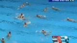 视频:男水冠军战 塞队集体快攻奈何中门柱