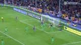 视频集锦:梅西2球破纪录 巴萨3-0桑坦德