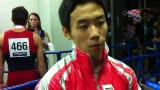 视频:邹凯四川话受访 称此次夺冠异常艰难
