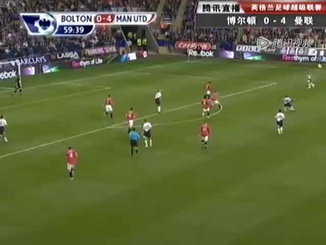 视频:曼联现险情 里奥科克中横梁惊呆小球迷