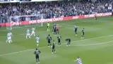 进球视频:路易斯愚蠢犯规 赫尔古森点球破门